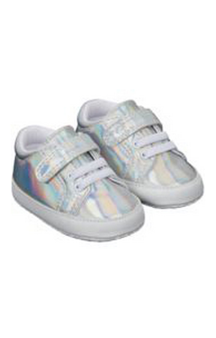 Mothercare | Silver Casual Slip-ons