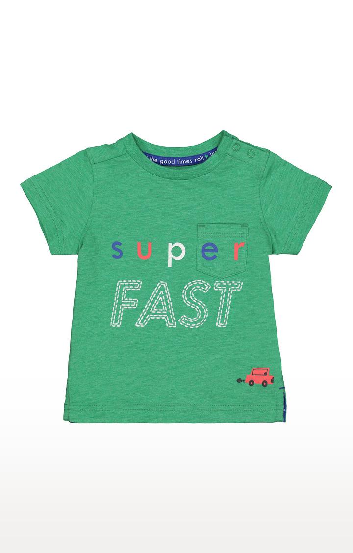 Mothercare   Green Printed T-Shirt