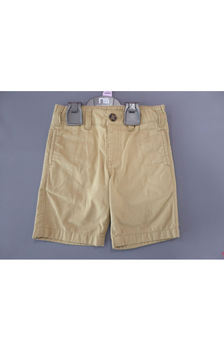 Mothercare | Beige Solid Shorts