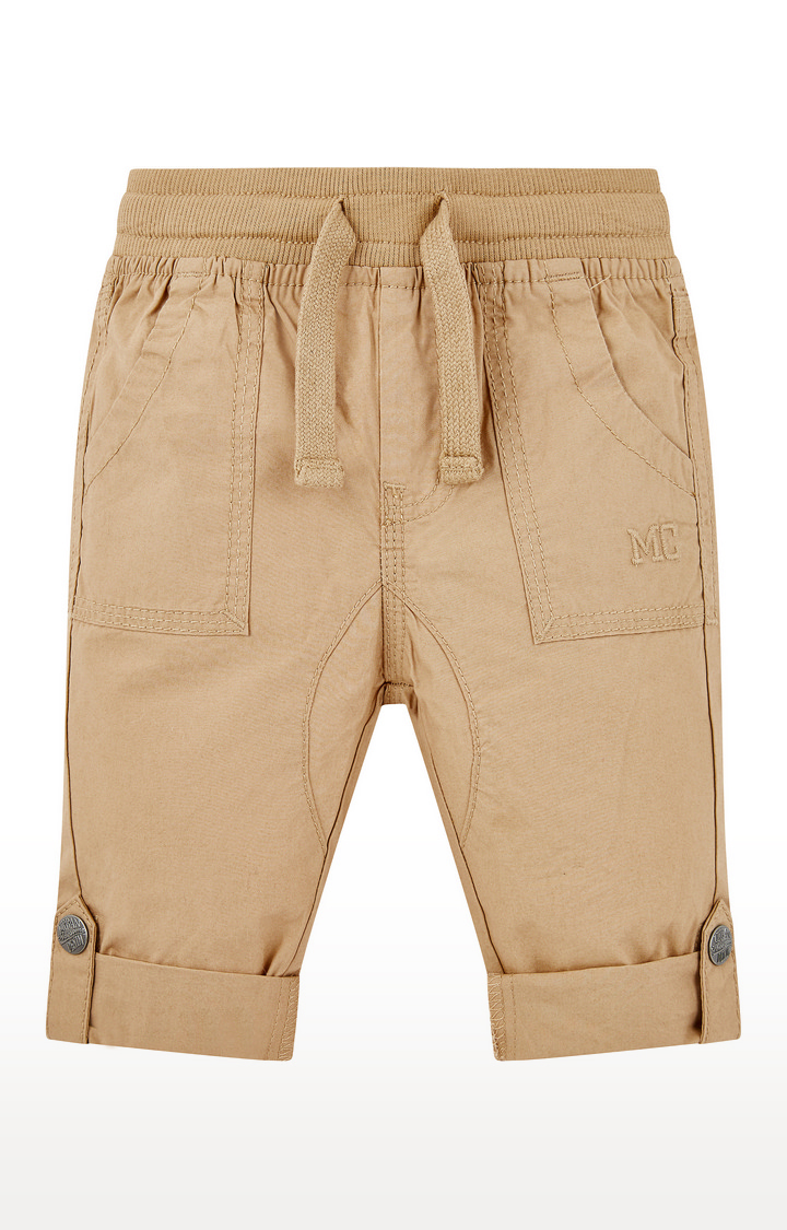 Mothercare | Yellow Solid Trousers