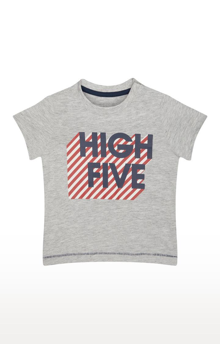 Mothercare | Grey Printed T-Shirt