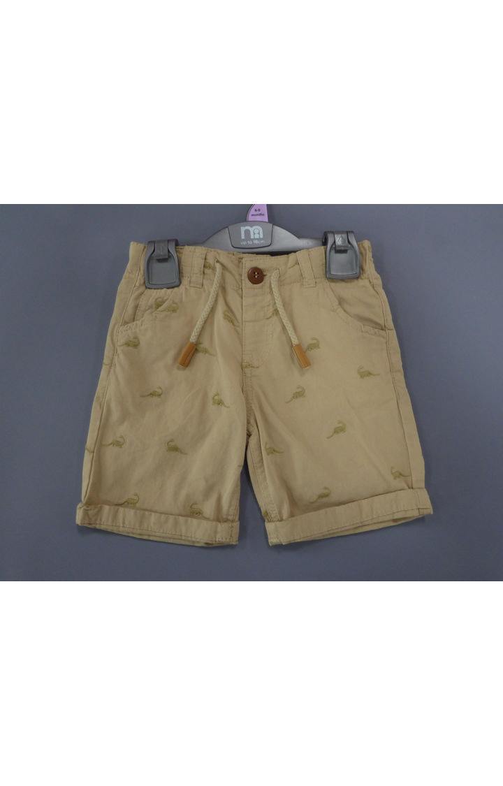 Mothercare | Beige Printed Shorts
