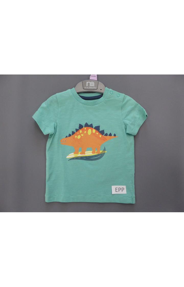 Mothercare | Green Printed T-Shirt