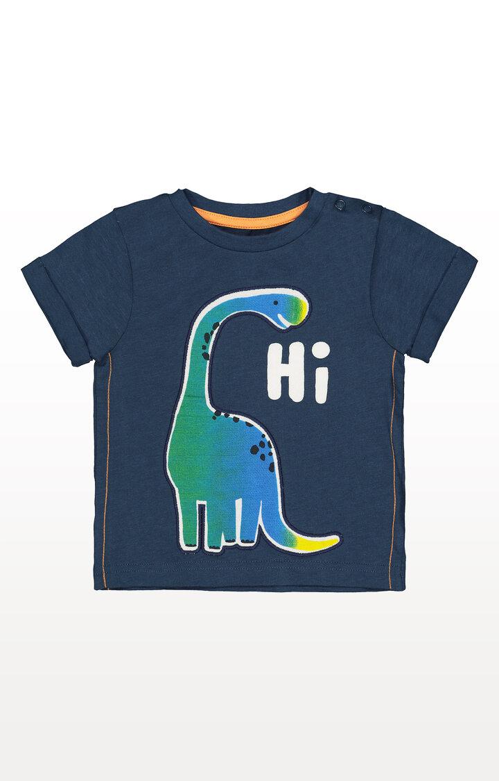 Mothercare | Navy Hi Dinosaur T-Shirt