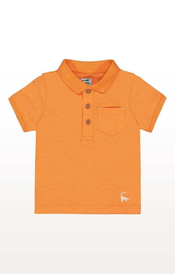Mothercare | Orange Polo Shirt