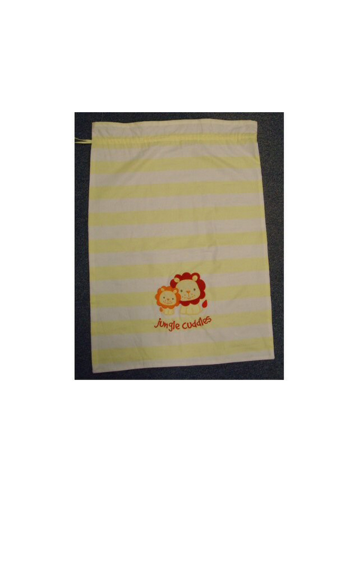 Mothercare | Yellow Laundry Bag