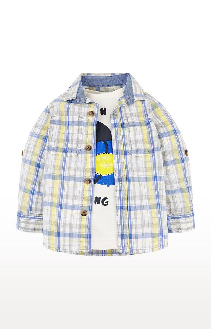 Mothercare | Multicoloured Checked Shirts