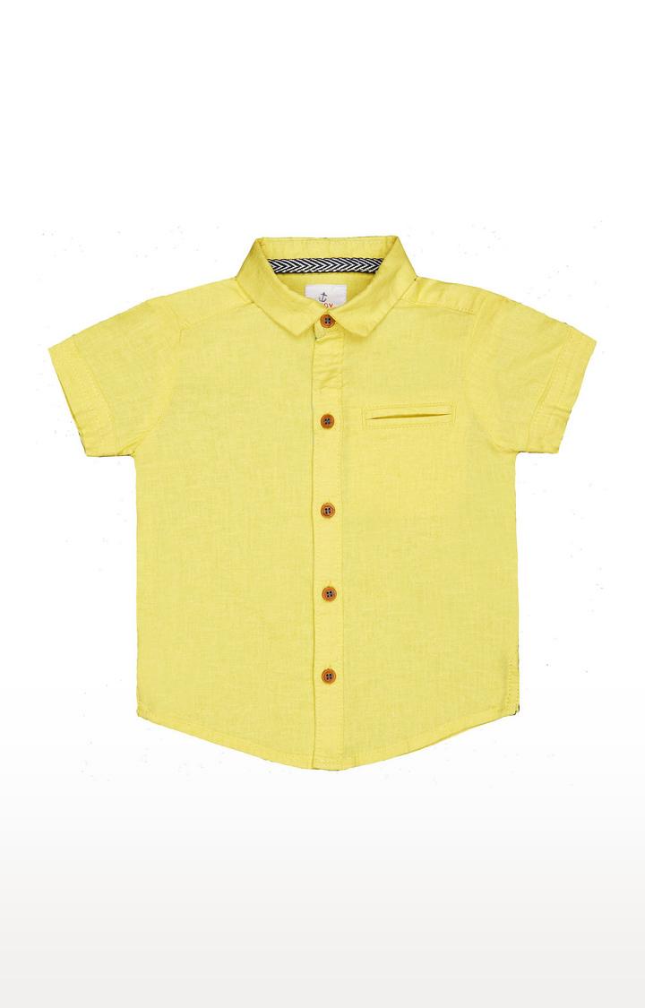 Mothercare   Yellow Shirt
