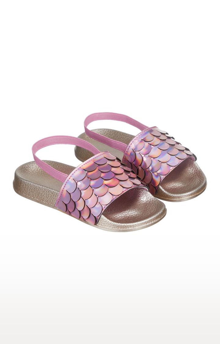 Mothercare   Pink Slider Flip Flops