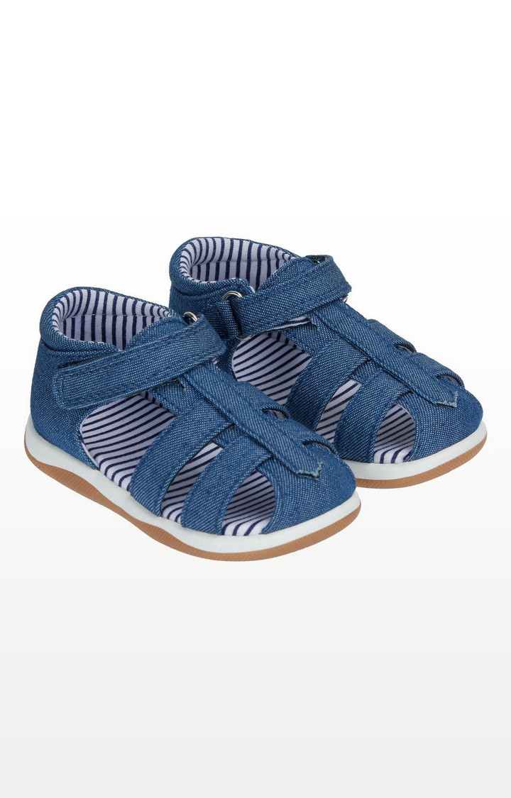 Mothercare | First Walker Denim Sandals