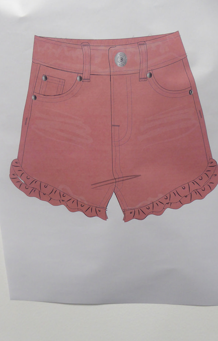 Mothercare | Pink Solid Shorts