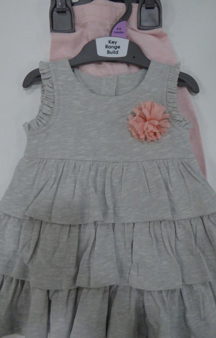Mothercare | Grey Melange Twin Set