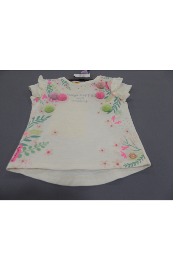 Mothercare | Off White Printed Top
