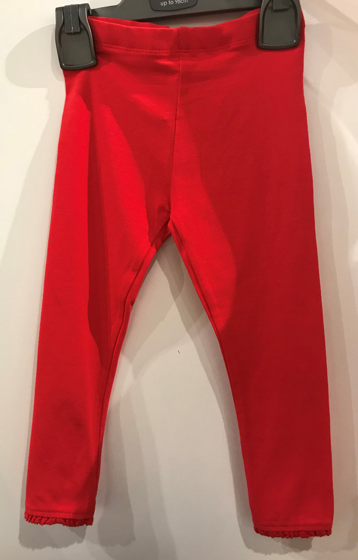 Mothercare | Red Solid Trousers