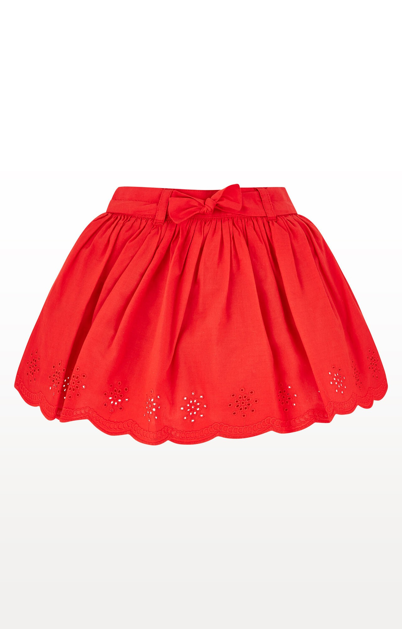 Mothercare | Red Broderie Skirt