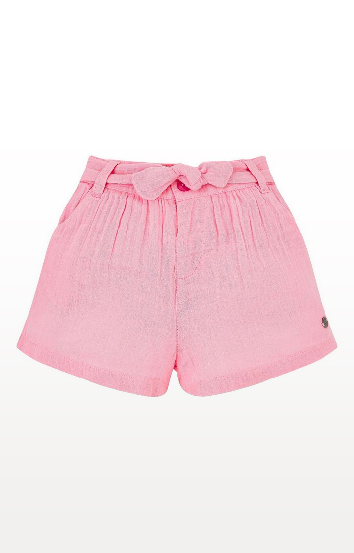 Mothercare | Pink Woven Shorts
