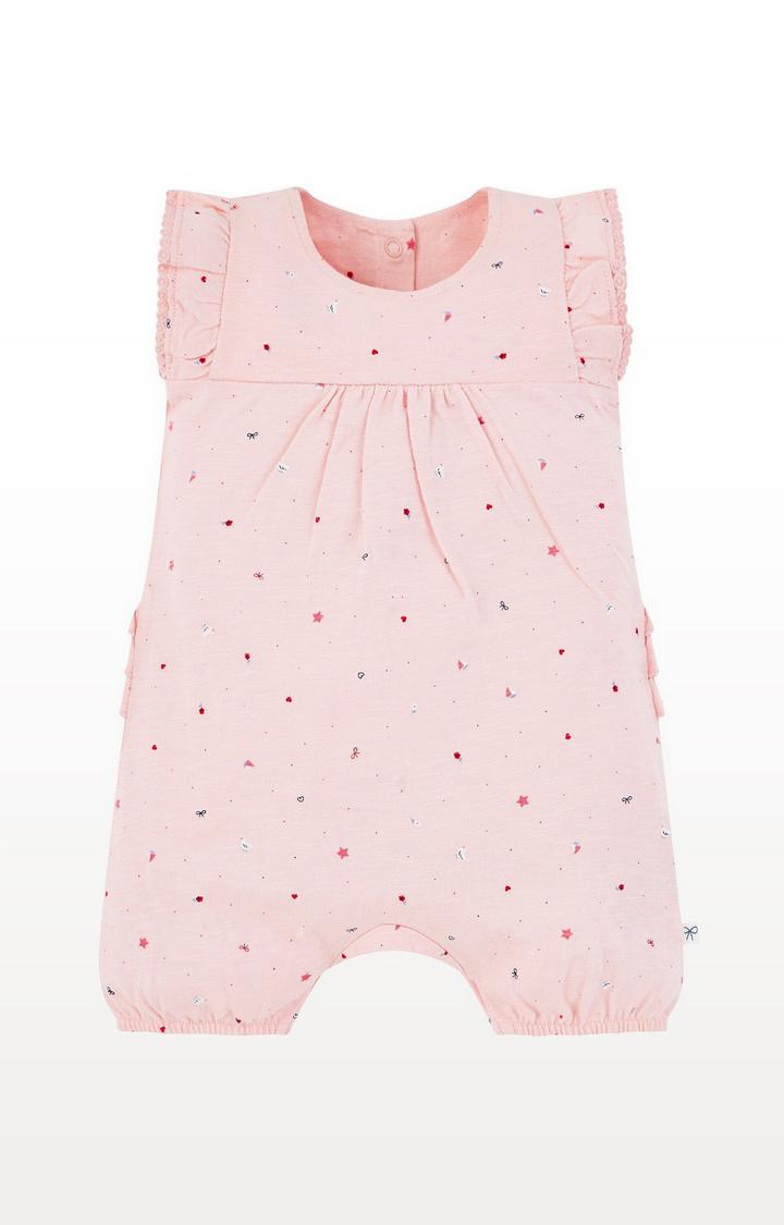 Mothercare | Pink Seaside Romper