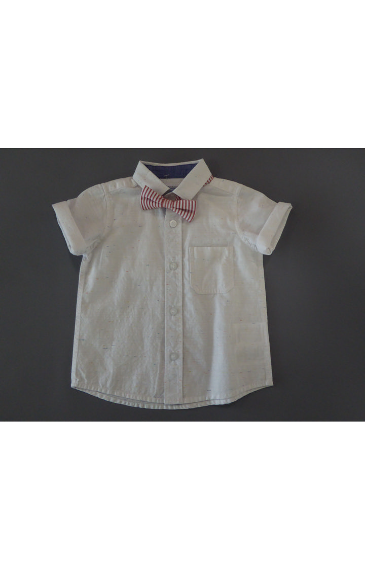 Mothercare | White Printed Shirt