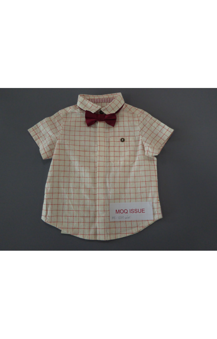 Mothercare | White Checked Shirt