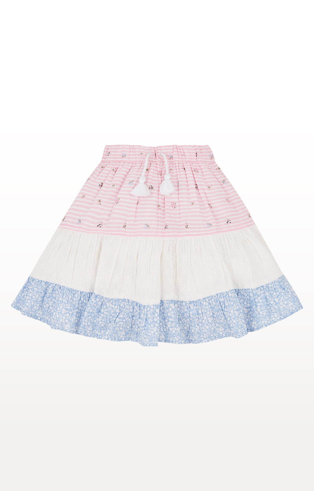 Mothercare | Patchwork Tiered Skirt