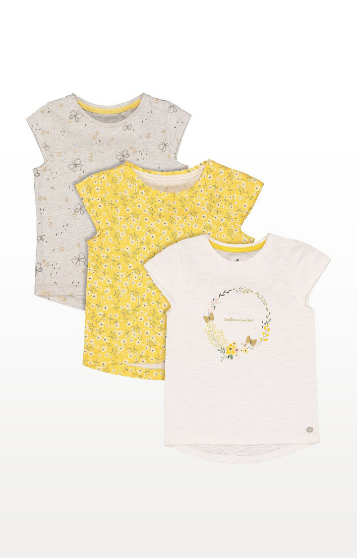 Mothercare | Creative And Curious T-Shirts - 3 Pack