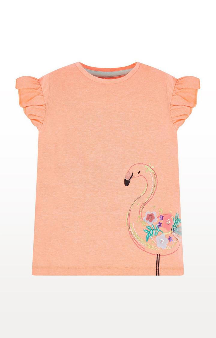 Mothercare | Coral Flamingo T-Shirt
