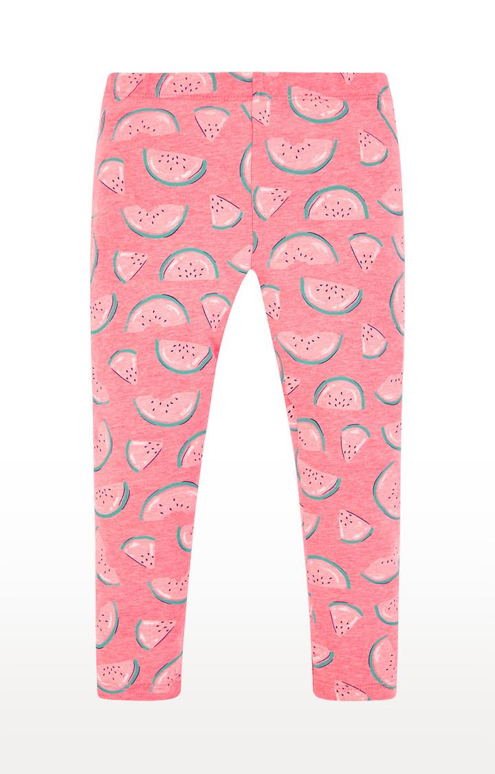 Mothercare | Pink Printed Western Wear Leggings