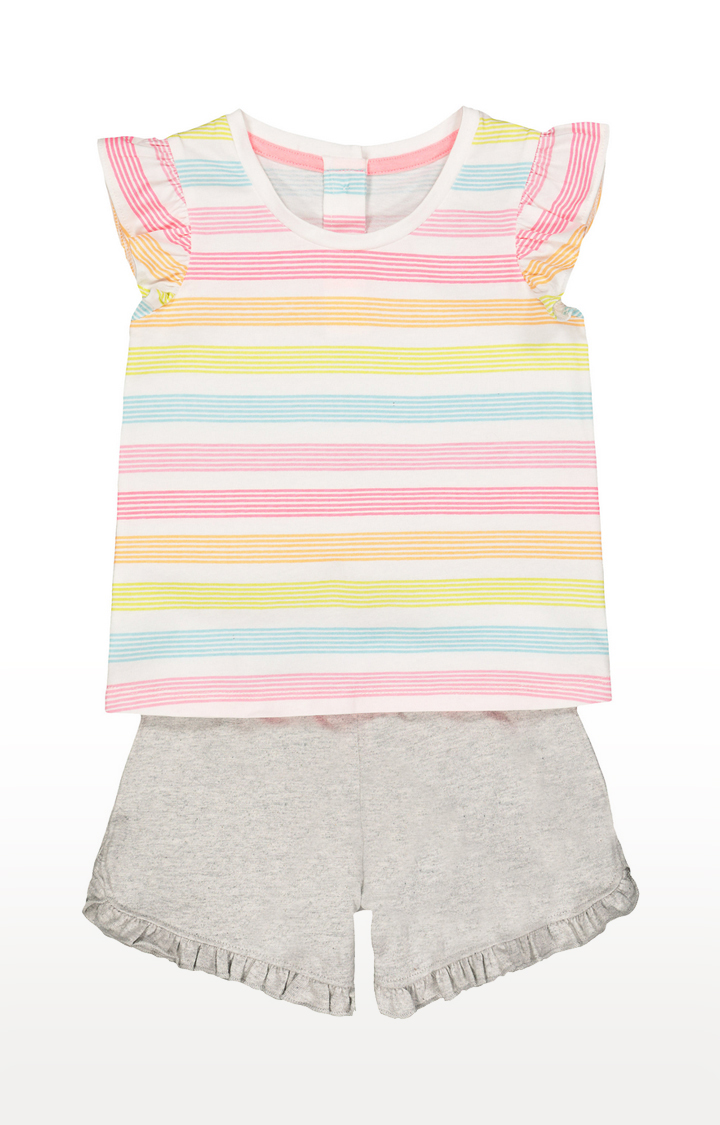 Mothercare | Multicoloured Printed Twin Sets