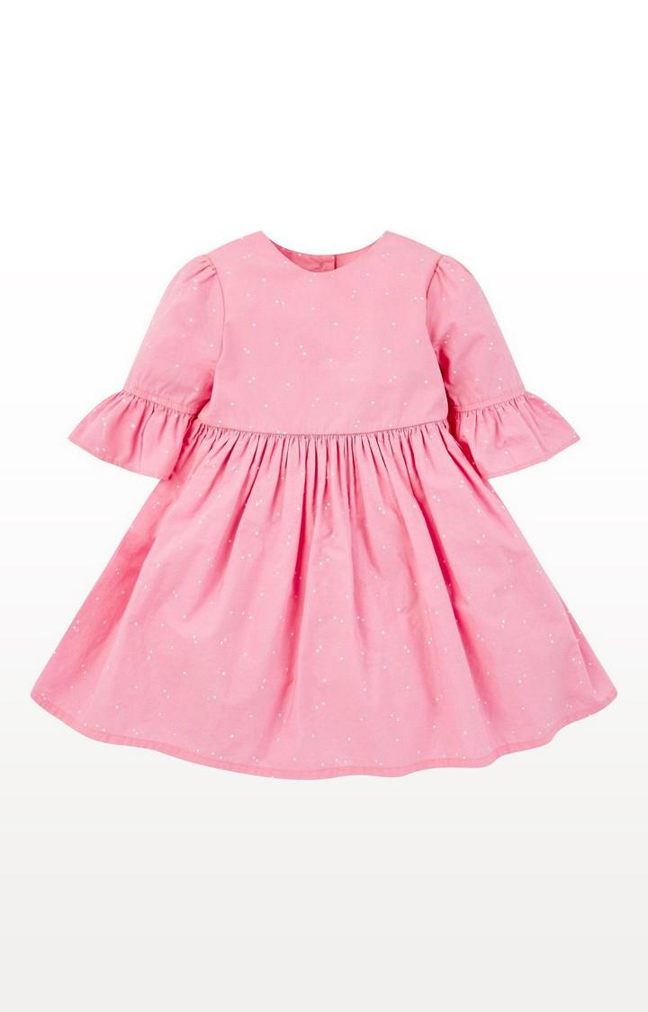 Mothercare   Pink Spotty Dress