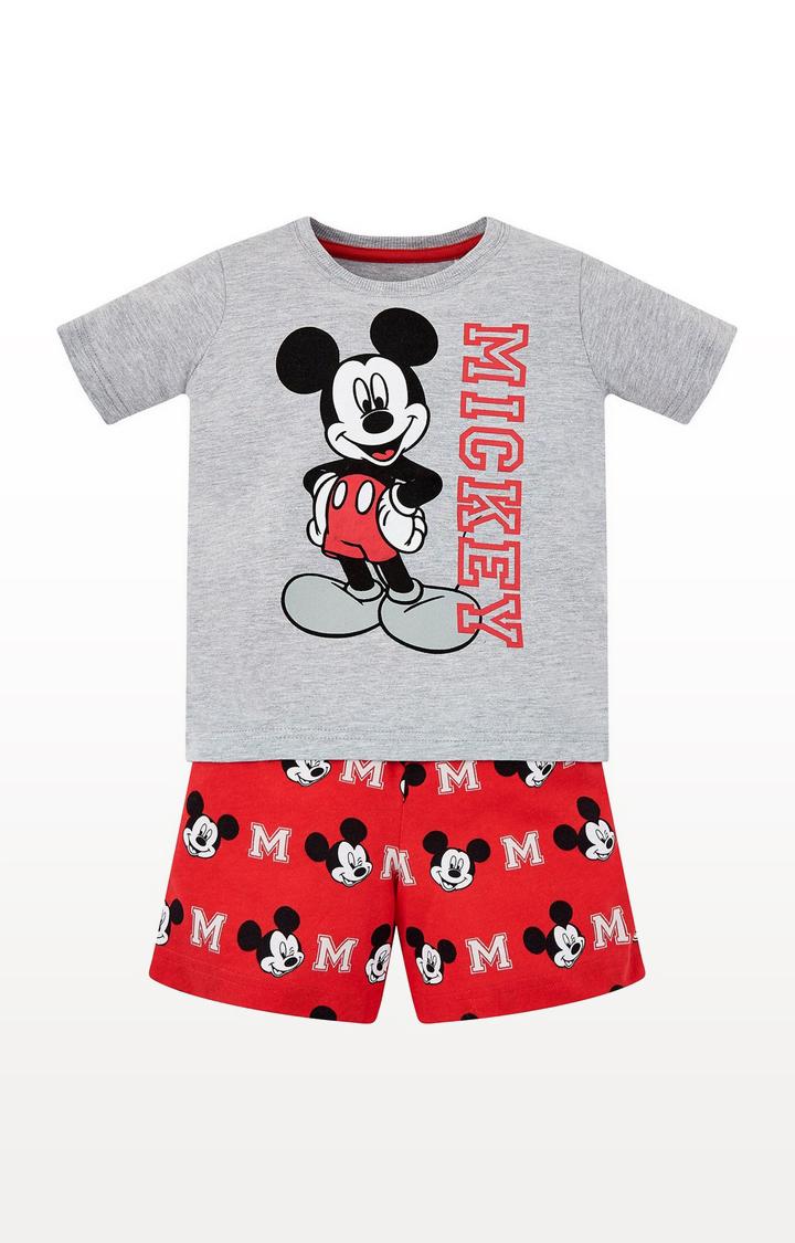 Mothercare | Disney Mickey Mouse Shortie Pyjamas