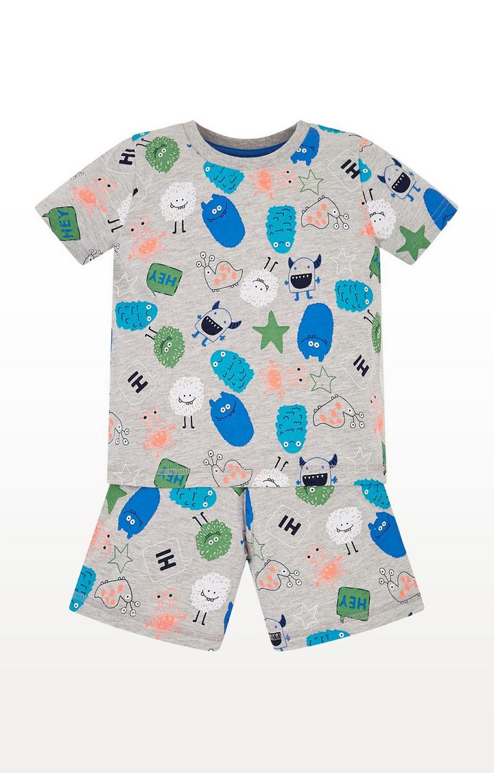 Mothercare   Monster Shortie Pyjamas