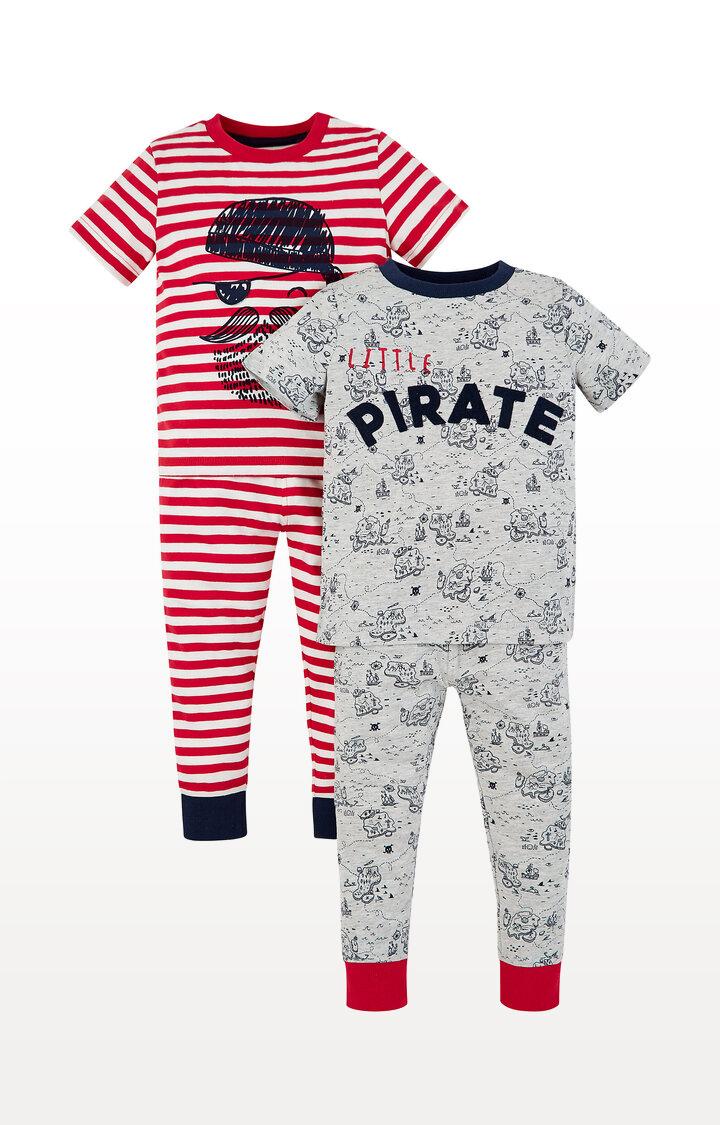 Mothercare | Pirate and Treasure Map Pyjamas - Pack of 2