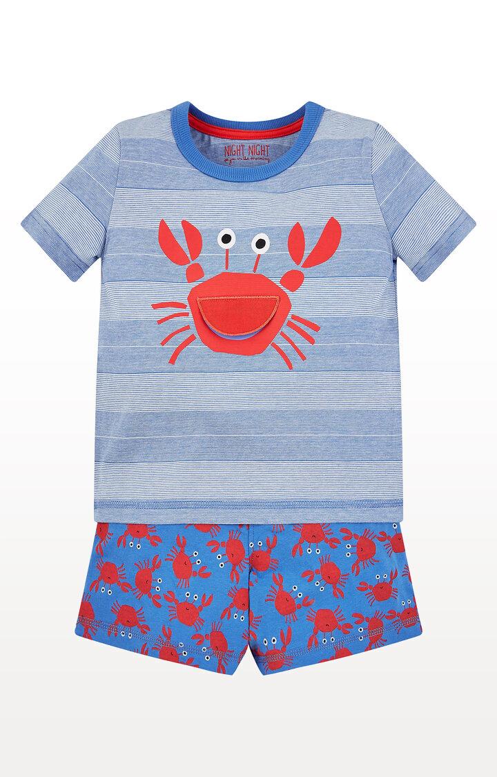 Mothercare   Crab Shortie Pyjamas