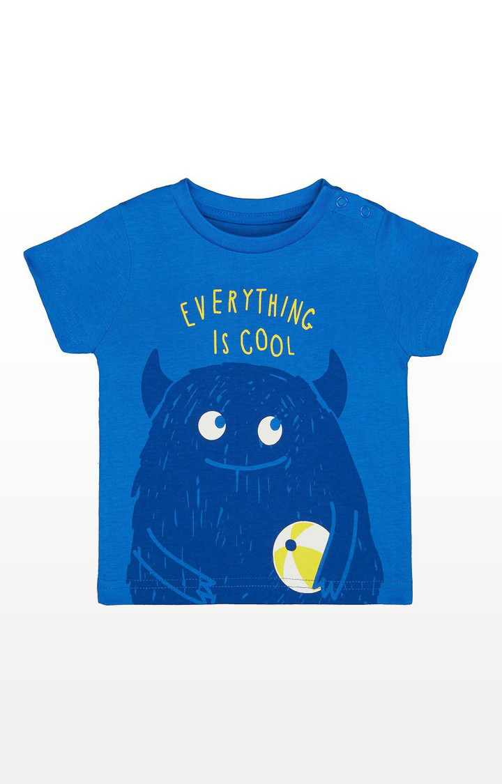 Mothercare | Blue Monster T-Shirt