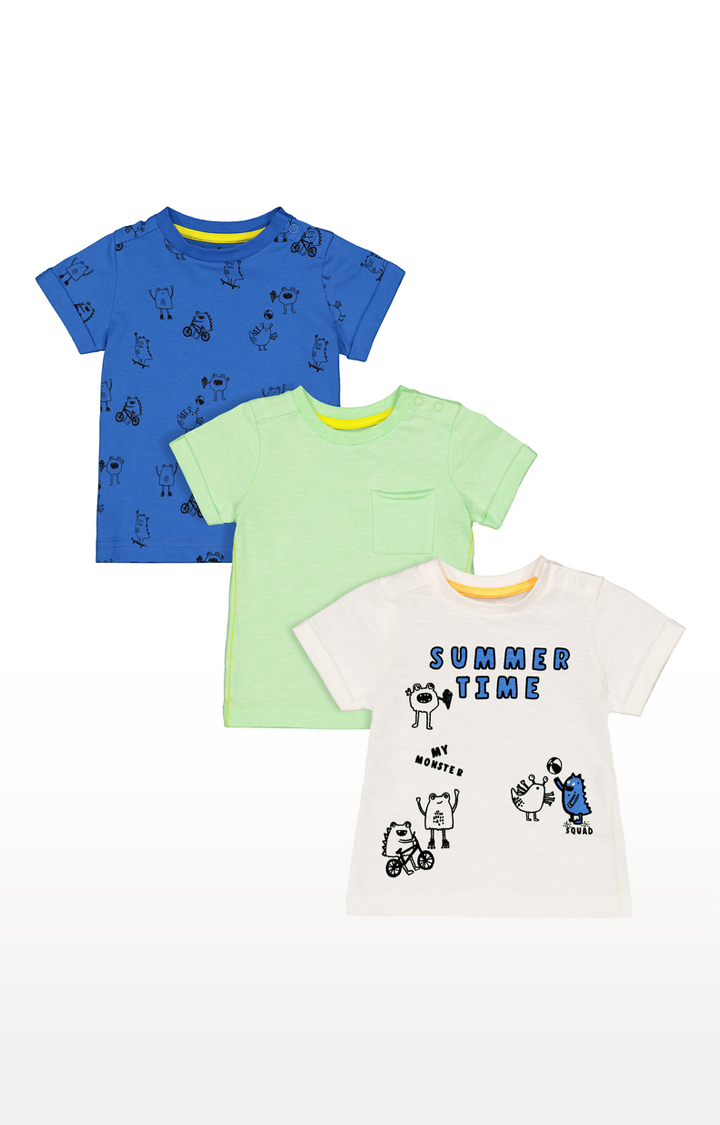Mothercare | Multicoloured Printed Casual Tees
