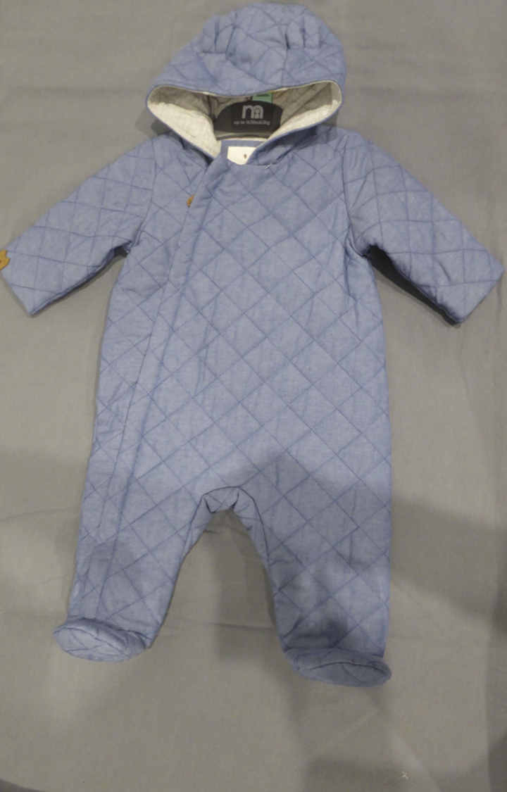 Mothercare | Blue Solid Romper