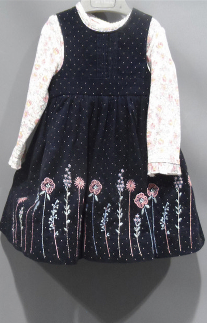 Mothercare | Navy Printed Dress
