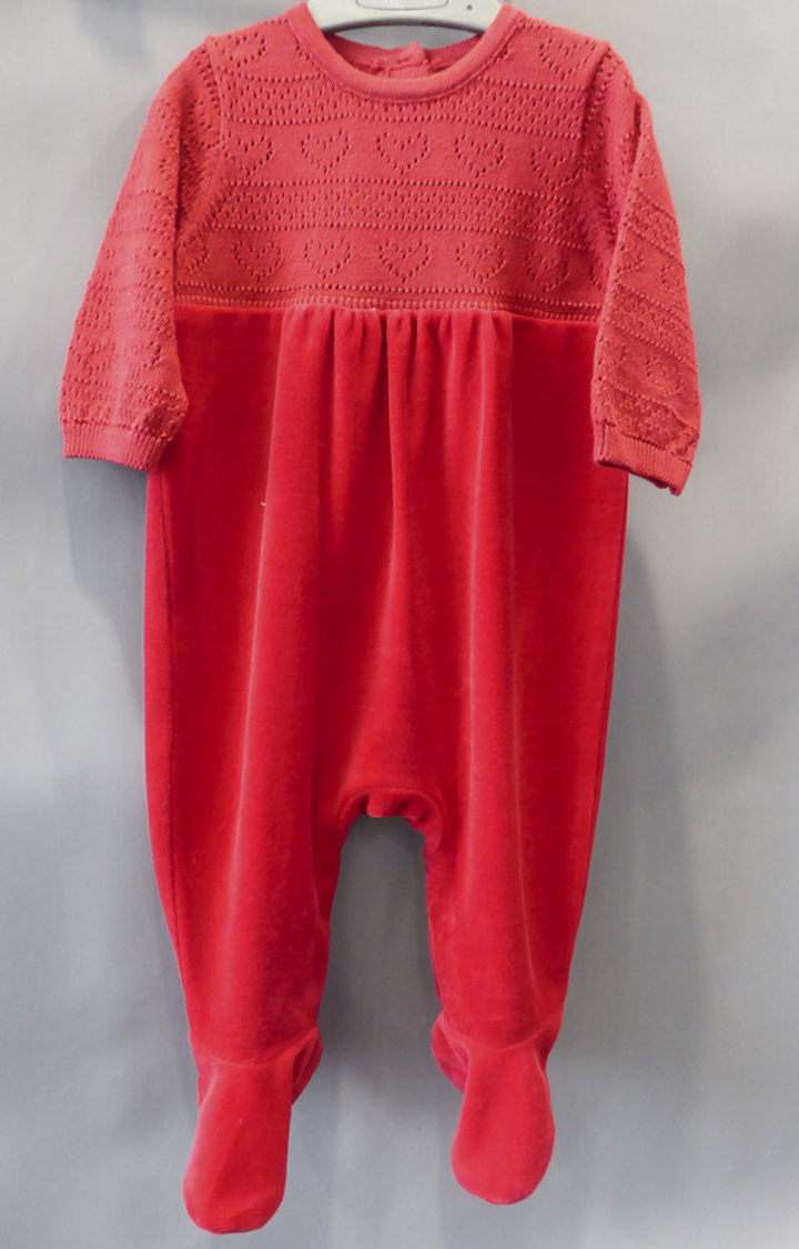 Mothercare | Red Solid Romper