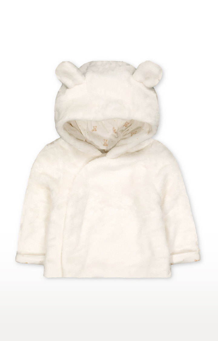 Mothercare | My First Bear Fluffy Jacket