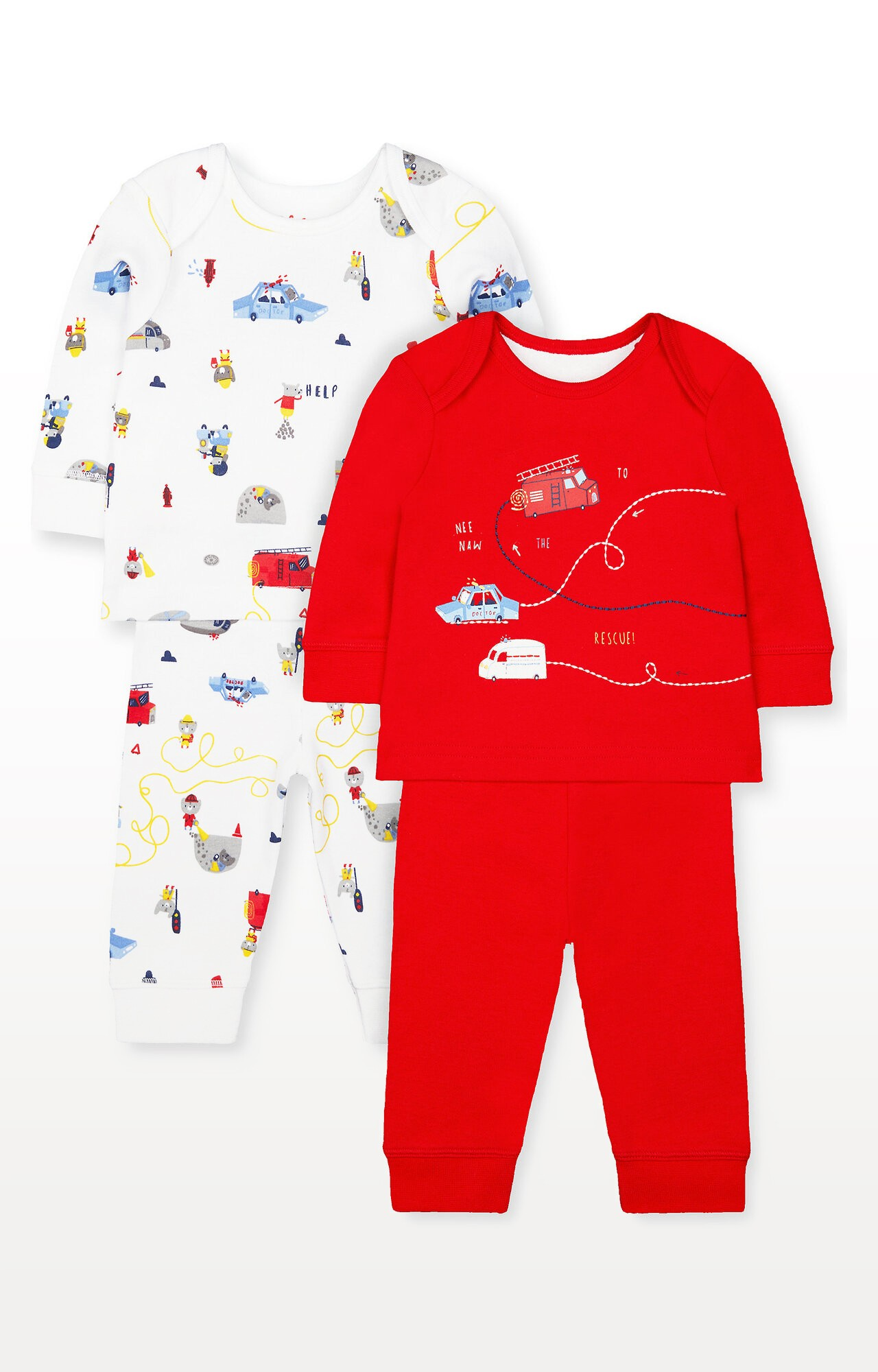 Mothercare | Rescue Animal Friends Pyjamas - Pack of 2