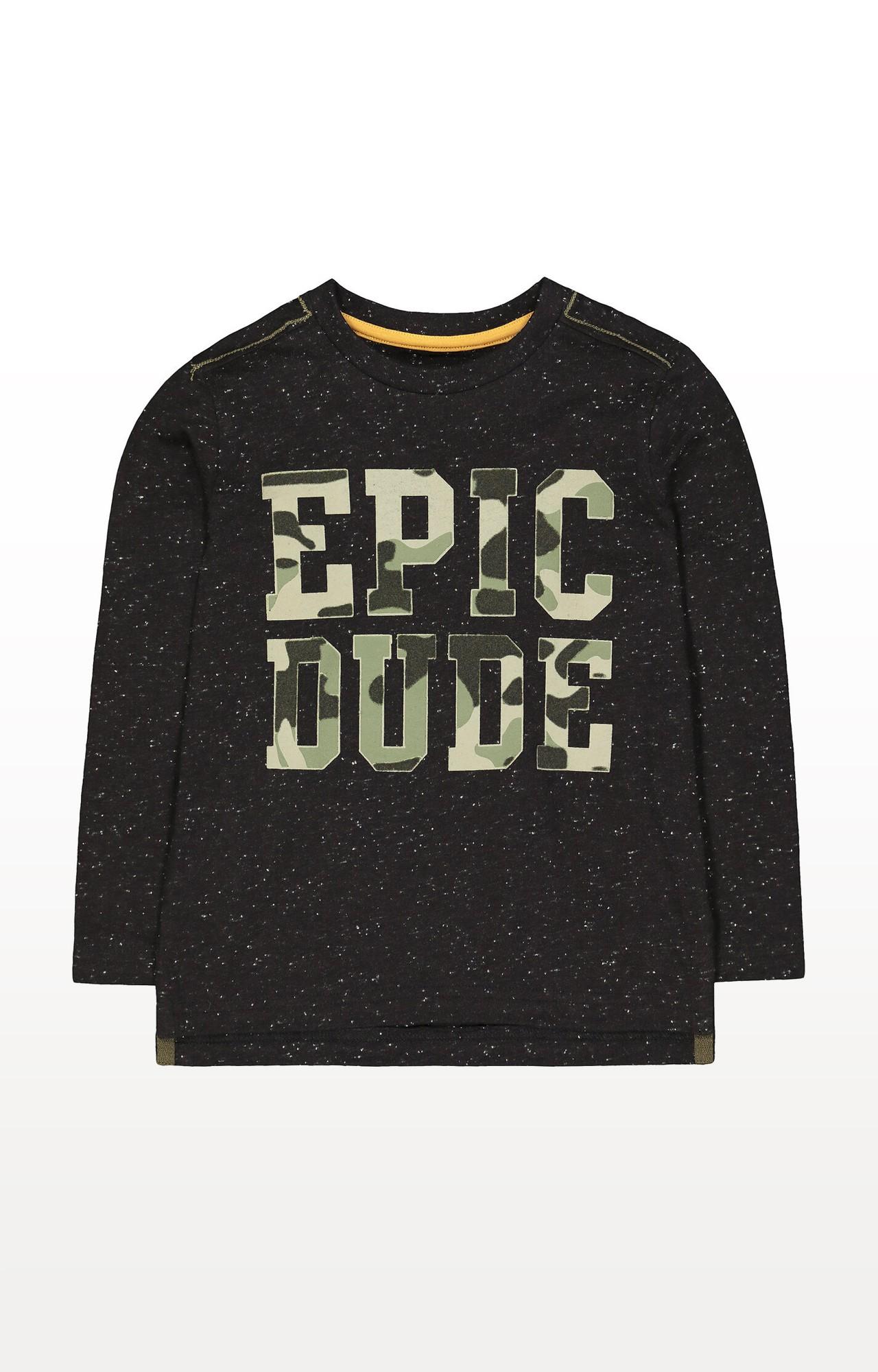 Mothercare | Black Camo Epic T-Shirt