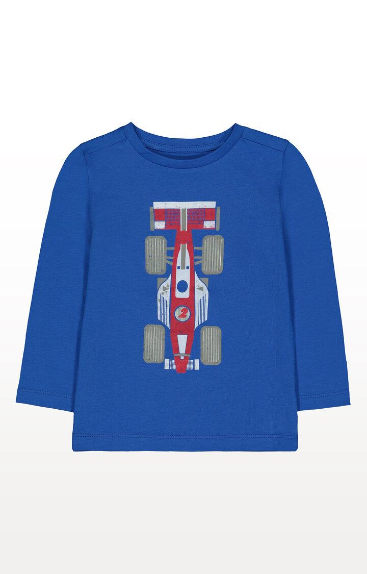 Mothercare | Blue Racing Car T-Shirt