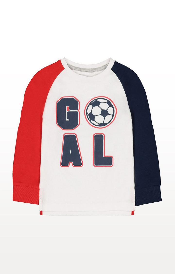 Mothercare   Goal T-Shirt
