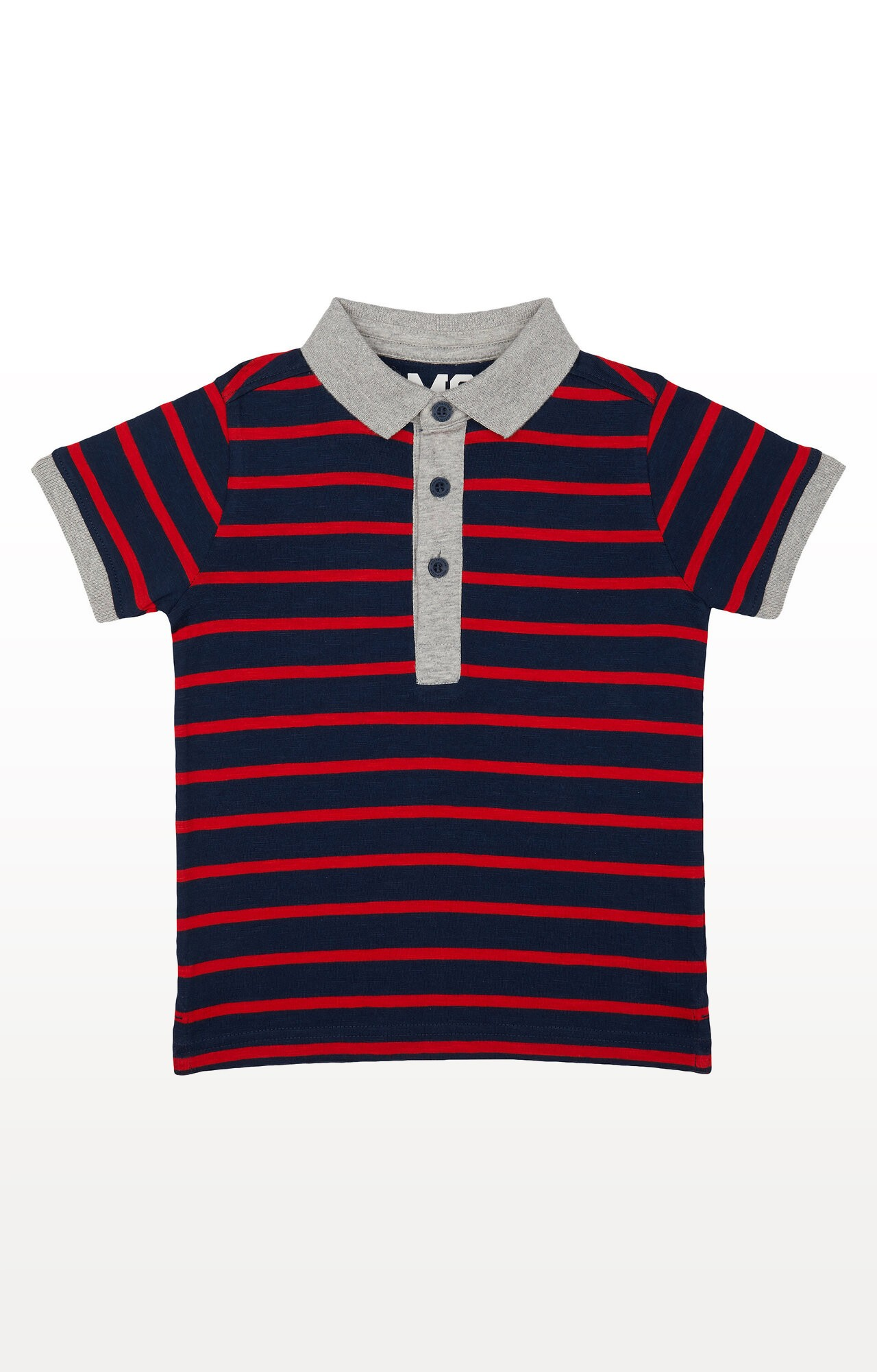 Mothercare | Red Striped Polo Shirt