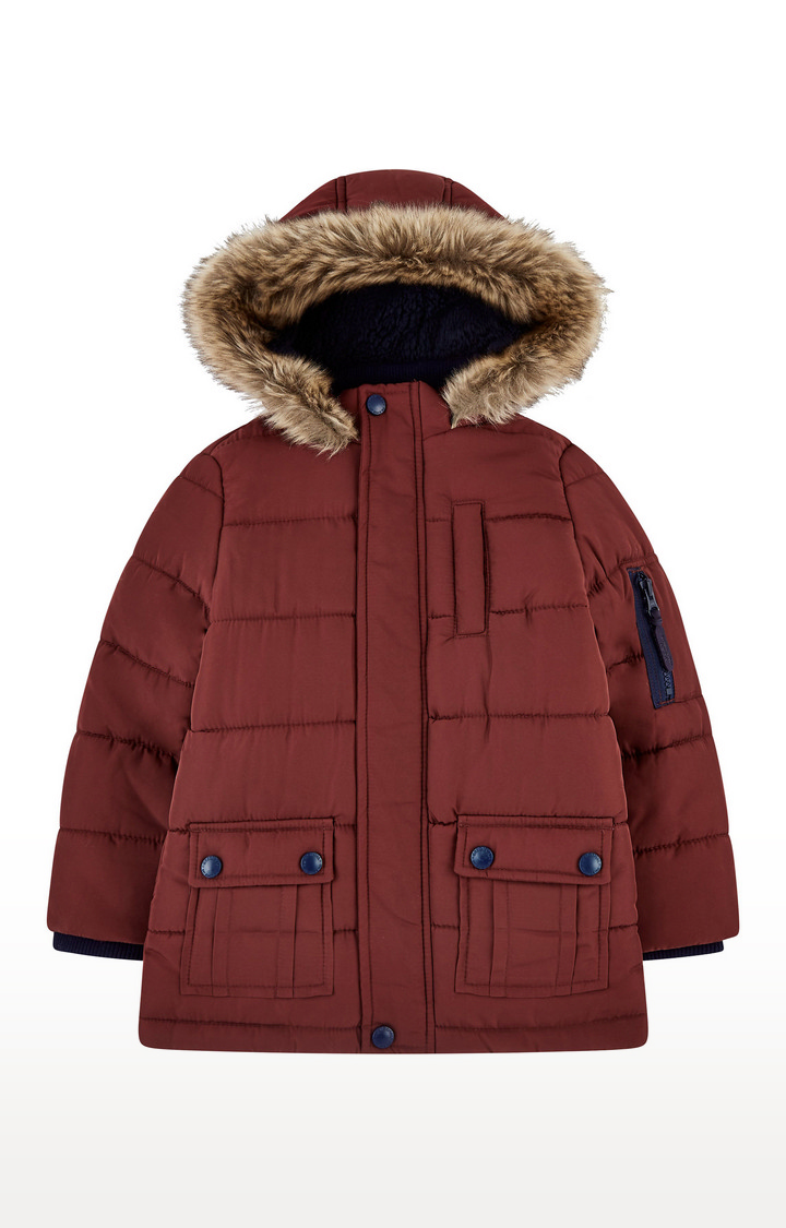 Mothercare | Burgundy Padded Coat