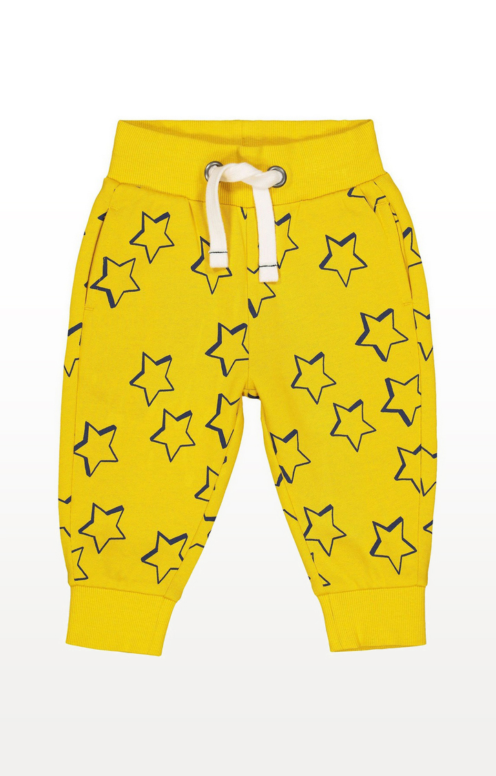 Mothercare | Yellow Star Joggers