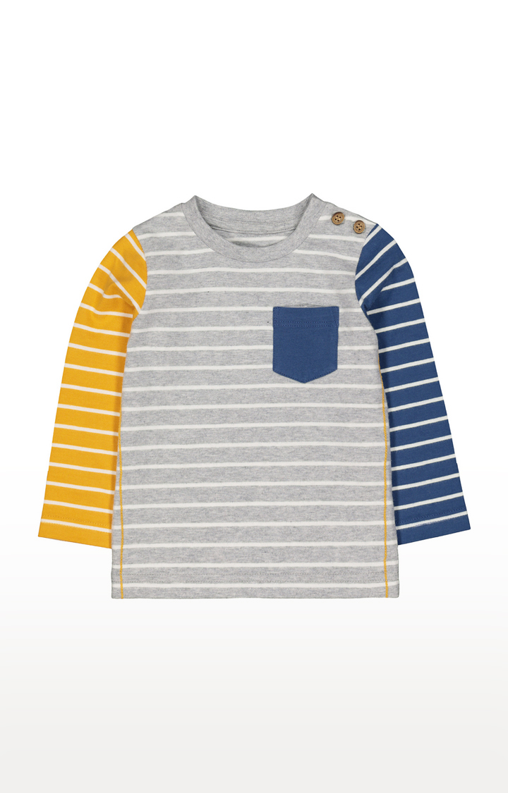 Mothercare | Multicoloured Striped Casual Tees
