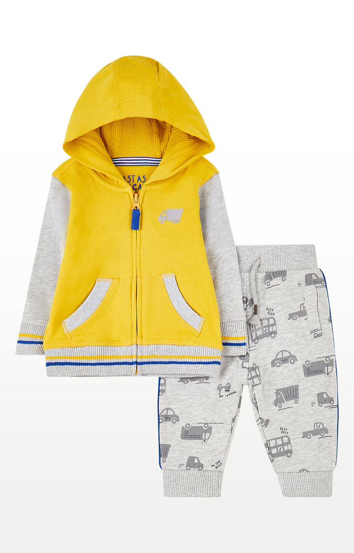 Mothercare | Vehicle Zip-Through Hoodie and Joggers Set