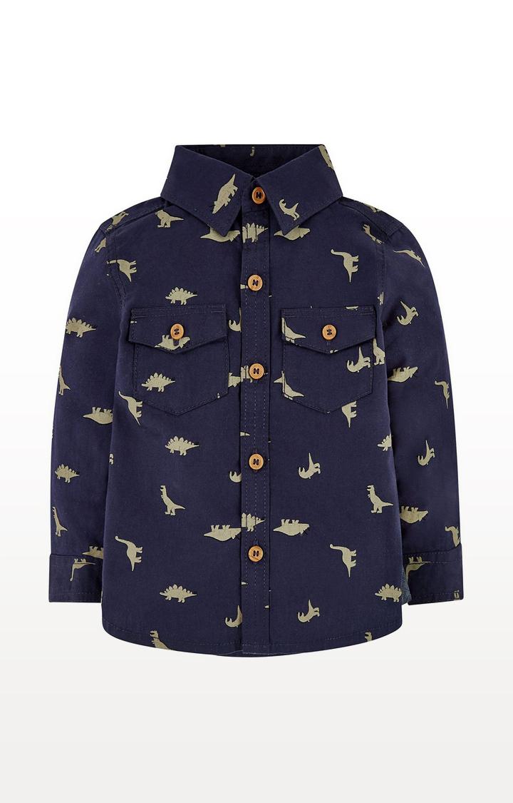 Mothercare | Navy Dinosaur Shirt