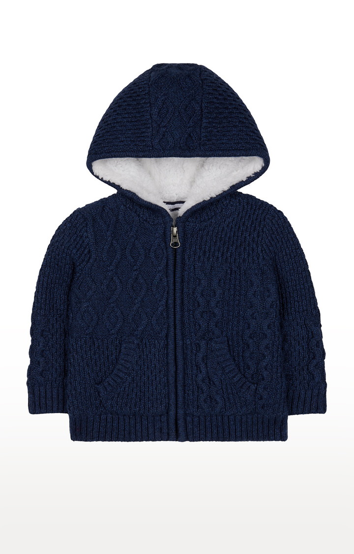 Mothercare | Navy Solid Hoodie